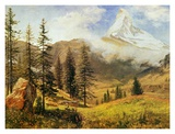 The Matterhorn Posters by Albert Bierstadt