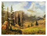 The Matterhorn Posters by Albert Bierstadt