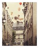 Paris is a Feeling Print by Irene Suchocki