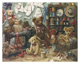 Teddy Bear Workshoppe Prints by Janet Kruskamp