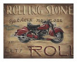 Let's Roll Print by Janet Kruskamp