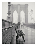 Lonely Bench Posters van Teo Tarras