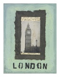 London Posters af Jan Weiss