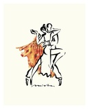 Tango Argentina Posters by Misha Lenn