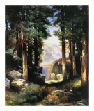 Grand Canyon of the Colorado Print by Thomas Moran