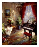 Music Parlor Art by  Foxwell