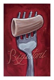 Rigatoni Prints by Darrin Hoover