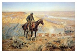 The Wagon Boss Prints by Charles Marion Russell