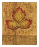 Autumn Leaf III Posters by Marcia Rahmana