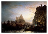 Venice at Night Prints by Alexej Bogoljubov