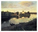 Evening Bells, 1892 Art by Isaac Levitan