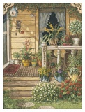 Summer Front Porch Posters by Janet Kruskamp