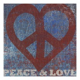 Imagine Peace Love Prints by Suzanna Anna