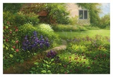 Chalet's Flower Garden Prints by Corley