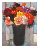 Vibrant Bouquet Prints by Hooshang Khorasani