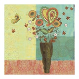 Bohemian Floral I Prints by Wendy Bentley