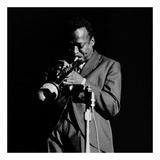 Miles Davis Print by Lee Tanner