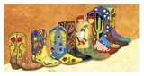 These Boots Are Made For Dancin' Art by John Saunders