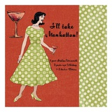 Manhattan Lady Posters by Lisa Ven Vertloh