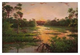 Sunset on the Bayou Prints by Hannah Paulsen