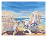 Seaside I Prints by Kathleen Denis
