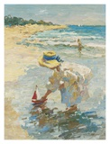 Sommer am Meer II Poster von Vitali Bondarenko