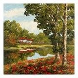 Villa Retreat Prints by Peggy Corthouts