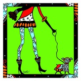 Seasonal Legs, Winter Print by Cindy Jackson