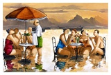 Water Resturant Art by Ronald West