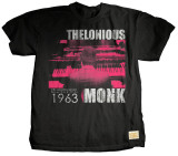 Thelonious Monk - CBS T-shirts by Jim Marshall