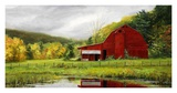 Vermont Barn Art by John Haag