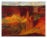 Evening, Canyon de Chelly Posters by Paul Davis