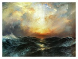 Seascape Posters by Thomas Moran