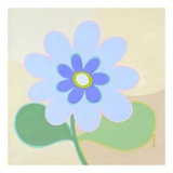 Pastel Flower Power III Prints by Monica Kuchta