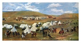 Cowboy Camp During The Roundup Prints by Charles Marion Russell