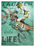 Launch Yourself Affiches par Janet Kruskamp