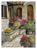 Vertine Doorway Affiche par Kent Wallis
