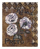 Rosas Preto Print by Shari White
