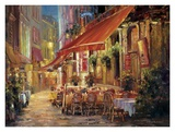 Cafe in Light Prints by Haixia Liu
