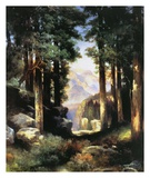 Grand Canyon of the Colorado Art by Thomas Moran