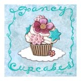 Fancy Cupcakes Art by Janet Kruskamp