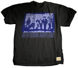 Jefferson Airplane - Chorus Line T-Shirt by Jim Marshall