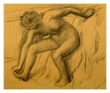After Bath, 1892 Prints by Edgar Degas