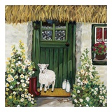 Green Door Affiches par Suzanne Etienne