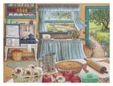 Récolte de tarte aux pommes Affiches par Janet Kruskamp