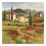 Tuscan Dream I Poster by Barbara Mock