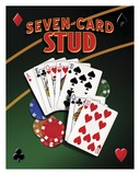Seven Card Stud Posters by Mike Patrick