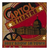 The Best Show In Town Print by Bruce Jope