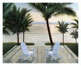 Palm Beach Retreat Posters by Diane Romanello