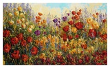 Wildflower Dance Prints by Peggy Corthouts